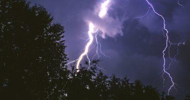odgromy burzowe